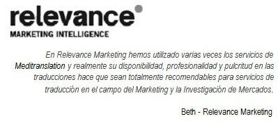 Cliente Relevance
